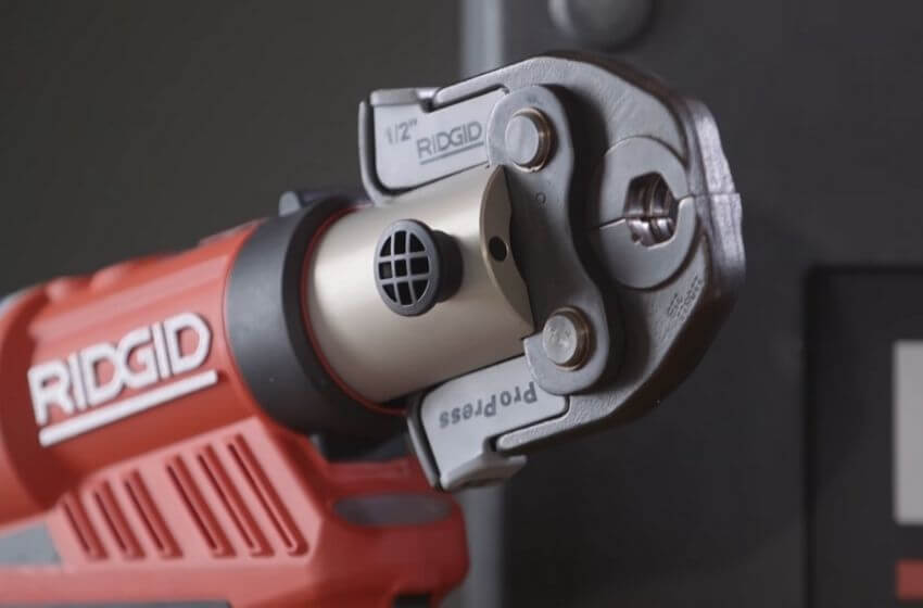 RIDGID PROPRESS Vs Milwaukee